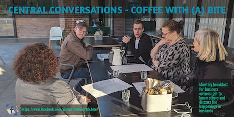 Coffee with a Bite; Building Business Relationships tickets