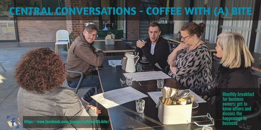 Coffee with a Bite; Building Business Relationships