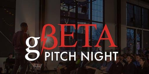 gBETA Pitch Night, Fall 2019