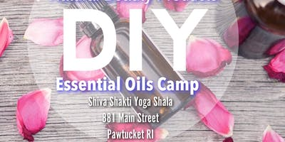 DIY Essential Oils Camp