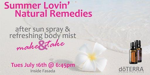 Summer Lovin' Natural Remedies