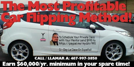 Anchorage Extreme Car Flip Business - 4 Evening Crash Course tickets