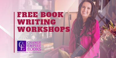 Free Book Writing Workshop Wed 07 August
