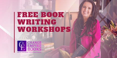 Free Book Writing Workshop Wed 07 August tickets