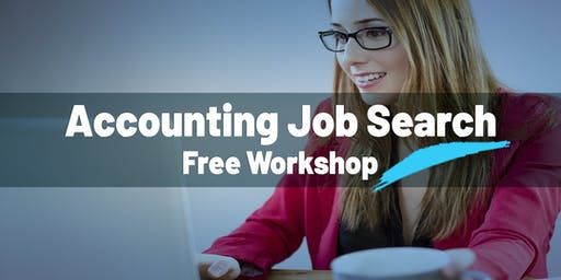 Accounting Job Search Free Workshop