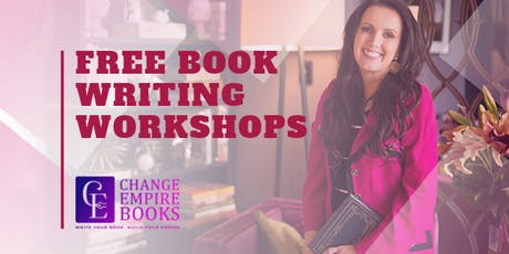 Free Book Writing Workshop Tue 24 September tickets