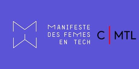 Comment négocier son salaire // Manifeste des femmes en technologie tickets