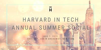 Harvard in Tech Annual Summer Social