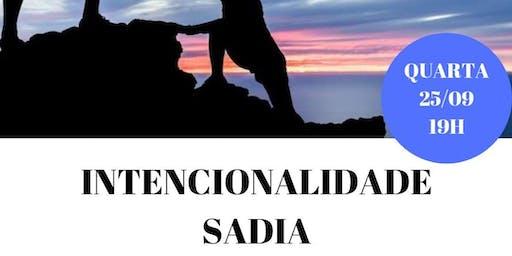Palestra Gratuita: Intencionalidade Sadia