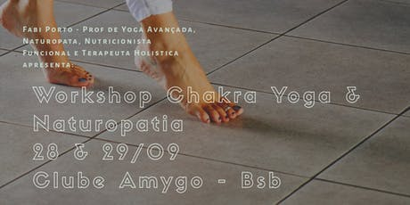 Workshop de Yoga, Chakras e Naturopatia ingressos