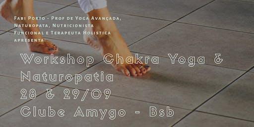 Workshop de Yoga, Chakras e Naturopatia