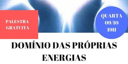 Palestra Gratuita: Domínio das Próprias Energias