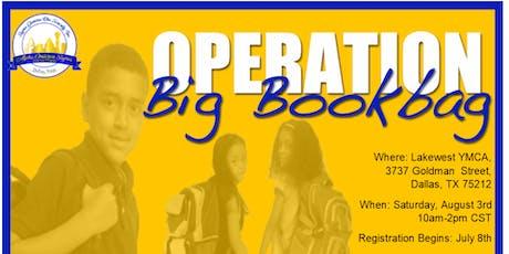 AOS Operation Big Book Bag tickets
