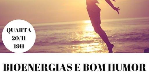 Palestra Gratuita: Bioenergias e Bom Humor