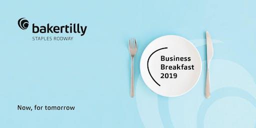 Taranaki Business Breakfast 2019