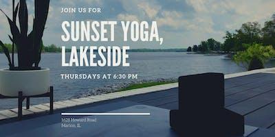 Sunset Yoga, Lakeside
