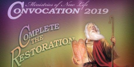 Convocation 2019 tickets