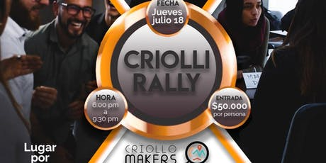 Criolli Rally entradas