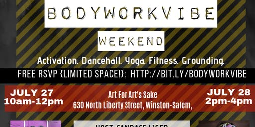 BodyWorkVibe Weekend   Dancehall, Afrobeat, Yoga, & Fitness