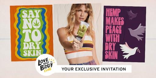 The Body Shop Morley, WA   HEMP VIP EVENT