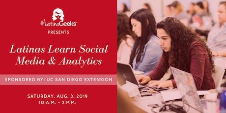 Latinas Learn Social Media & Analytics tickets
