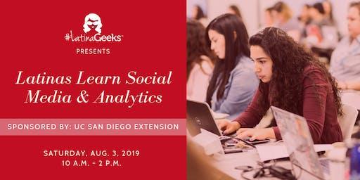Latinas Learn Social Media & Analytics