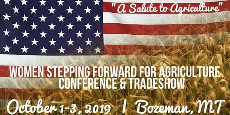 2019 Women Stepping Forward for Agriculture Conference tickets