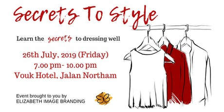 SECRETS to STYLE  tickets