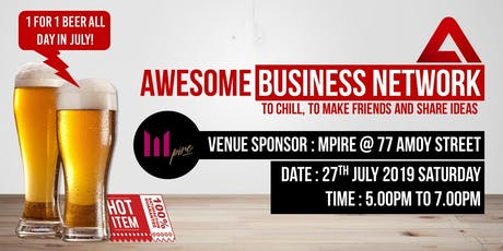 Awesome Business Networking tickets