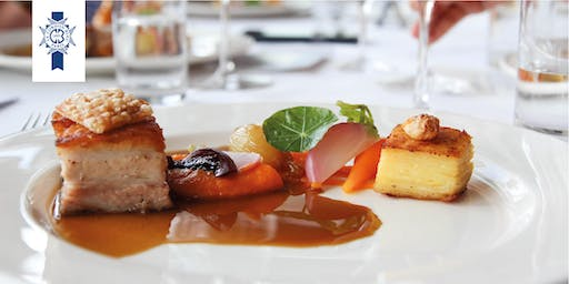 5 Course Dinner on Wednesday 21st August 2019 at Le Cordon Bleu