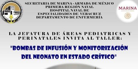TALLER DE BOMBAS DE INFUSION( EXCLUSIVO PASANTES DEL HOSPITAL NAVAL) boletos