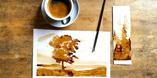 Painting with coffee workshop-brunch!