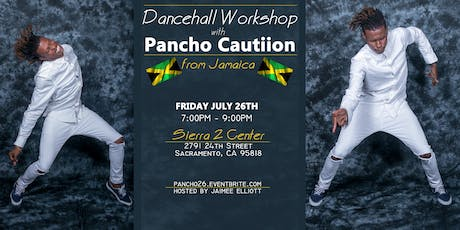 Dancehall workshop with Pancho Cautiion tickets