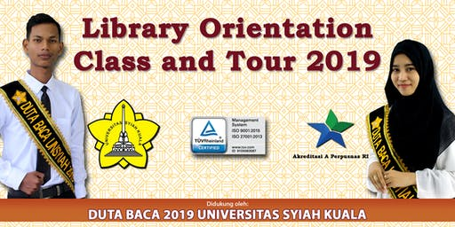 Library Orientation Class & Tour (LOCT) 2019