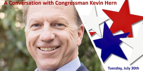 A Conversation with Congressman Kevin Hern tickets