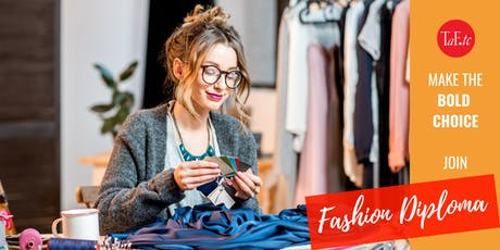 Getting into Fashion: A 30-min 1-on-1 Session on TaF.tc's Fashion Diplomas tickets