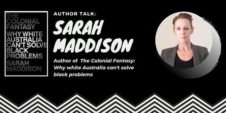 Author Talk: Sarah Maddison tickets