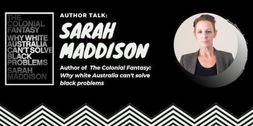 Author Talk: Sarah Maddison