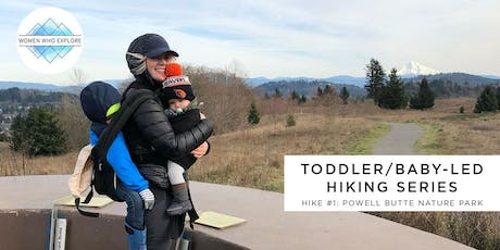 WWE Portland: Toddler/Baby Led Hiking Series - Powell Butte Nature Park tickets