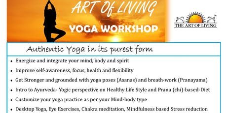 ART OF LIVING YOGA PROGRAM tickets