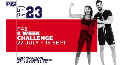 F45 Blackburn: 8 Week Challenge C23 (REGISTRATION)