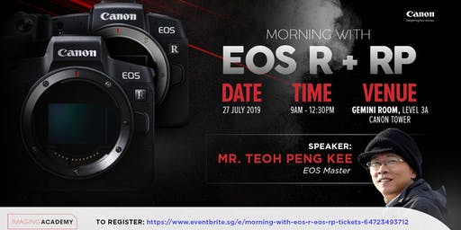 Morning With EOS R & EOS RP