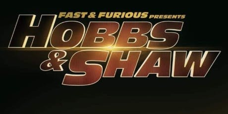 headspace presents Hobbs & Shaw tickets