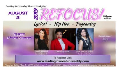 2019 Leading In Worship Dance Workshop tickets