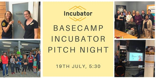 Basecamp Incubator Pitch Night
