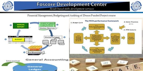Financial Management, Budgeting and Auditing of Donor Funded Projects cours tickets