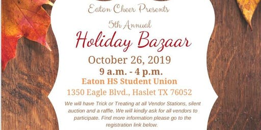 Eaton High School Fall Bazaar and Silent Auction