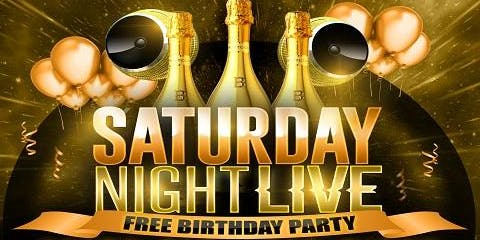 Saturday Night Live Free Birthday Party