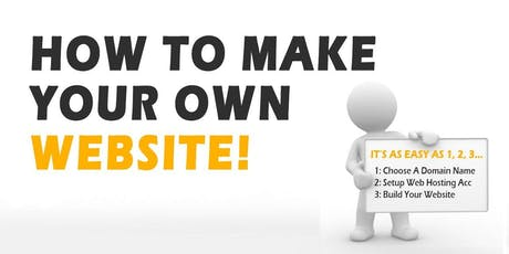Create Your Own Website Workshop - Morwell tickets