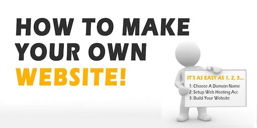 Create Your Own Website Workshop - Morwell